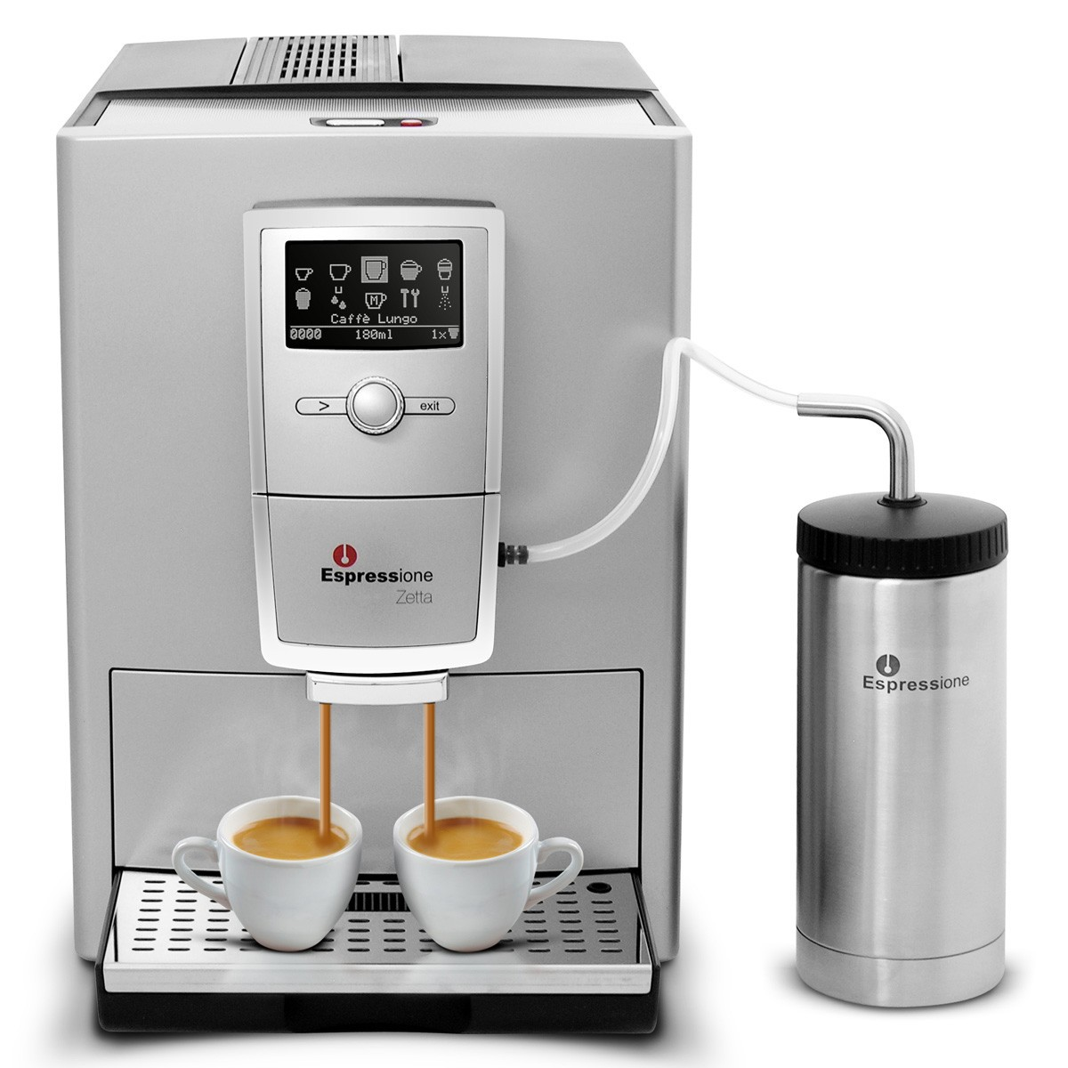 Cafeteira Expresso Automática Zetta Espressione 220v Cappuccino SALDÃO