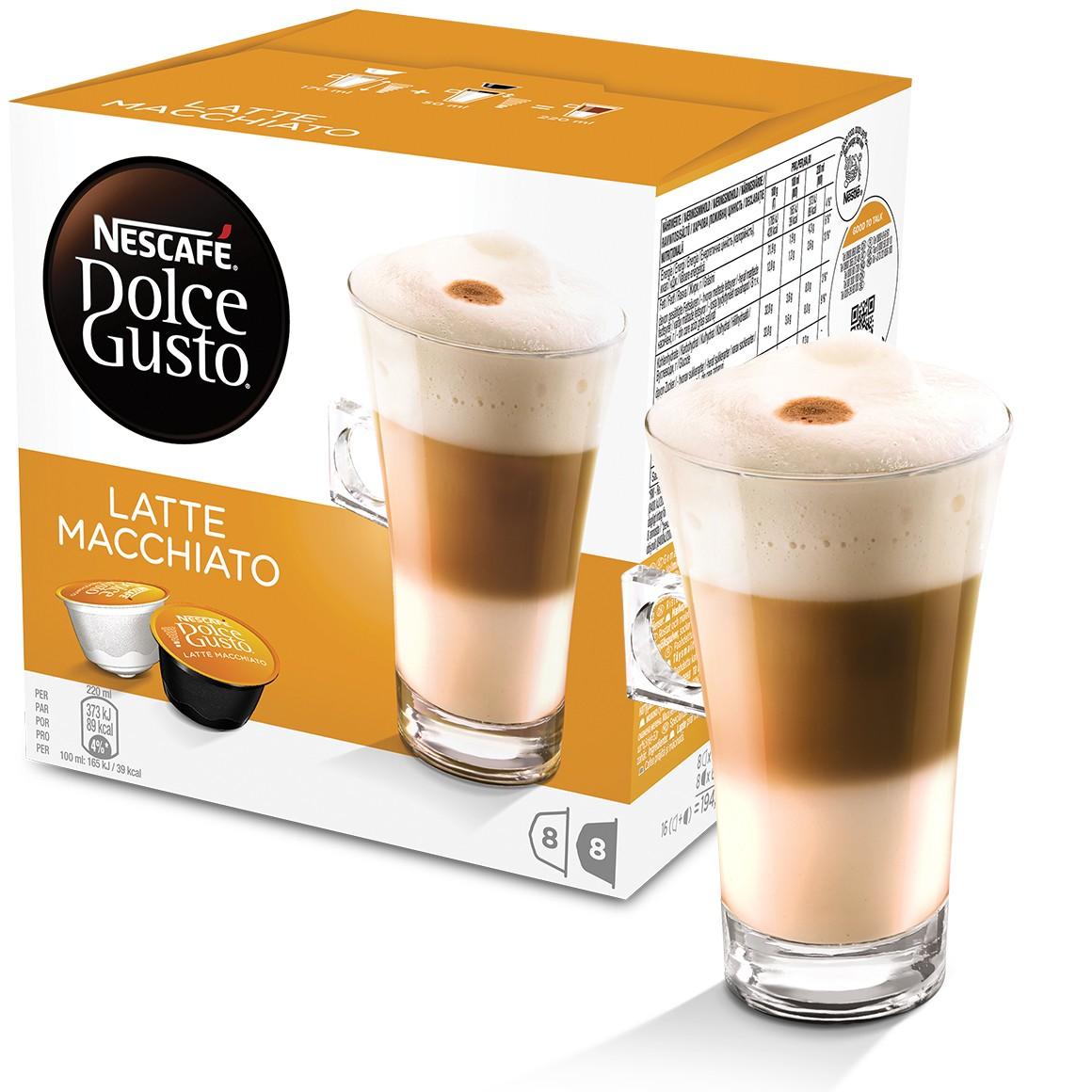 Cápsula Nescafé Dolce Gusto Latte Macchiato 16 Cápsulas - Nestlé