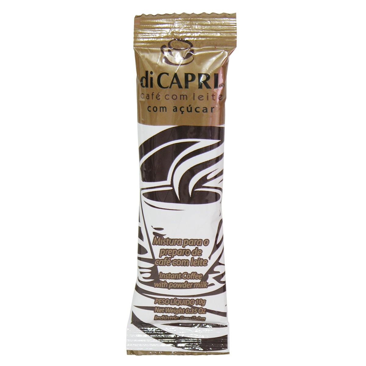 Cappuccino Café com leite di Capri - 100 unidades
