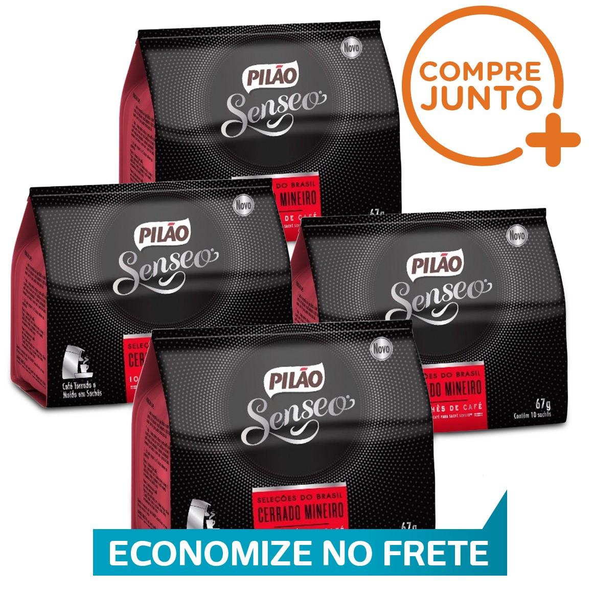 Kit Sachê Soft Senseo Pilão Cerrado MIneiro