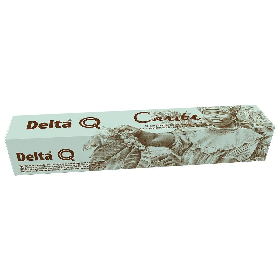 Cápsula de Café Delta Q Caribe - 10 Cápsulas