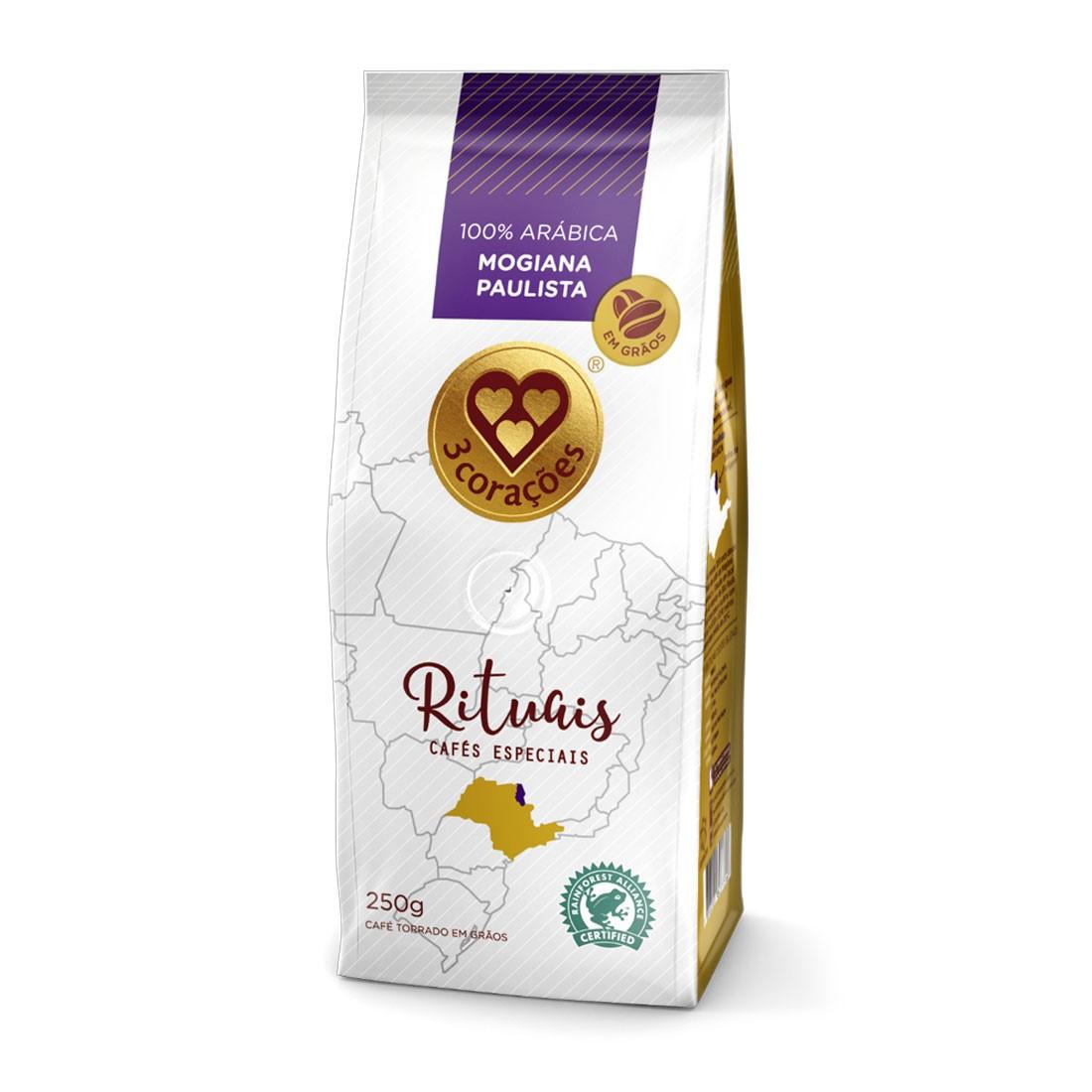 Café em Grãos Três Corações Rituais Mogiana Paulista - 250g