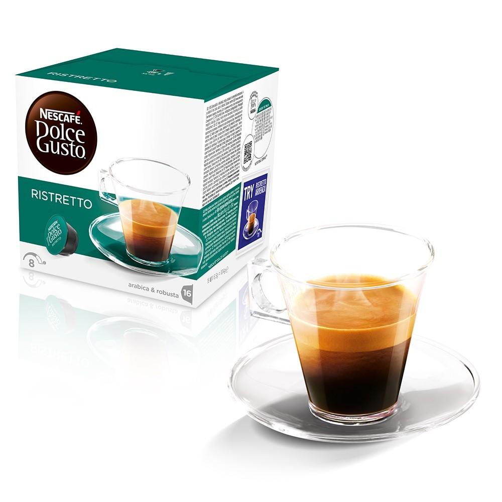 Cápsula Nescafé Dolce Gusto Ristretto 16 un - Nestlé