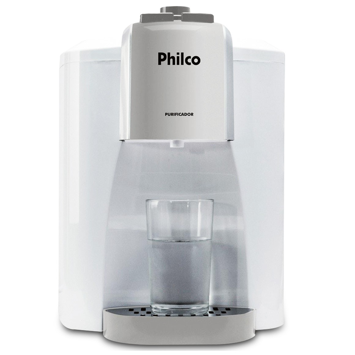 Purificador de Água Ph20 Eletrônico Branco/Cinza Bivolt - Philco