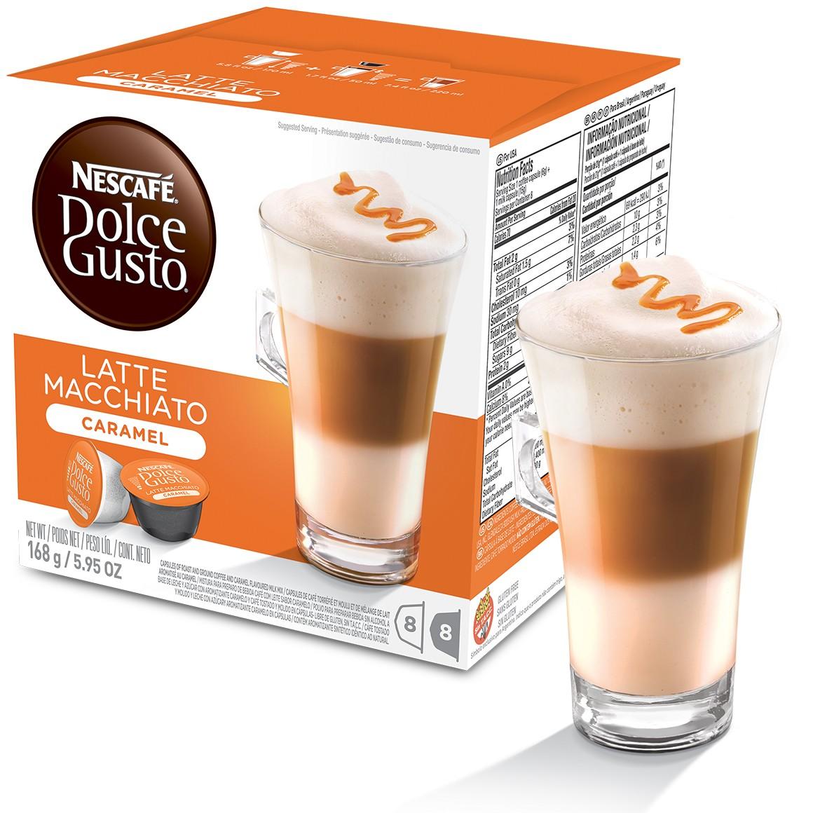 Cápsula Nescafé Dolce Gusto Latte Macchiato Caramel - Nestlé