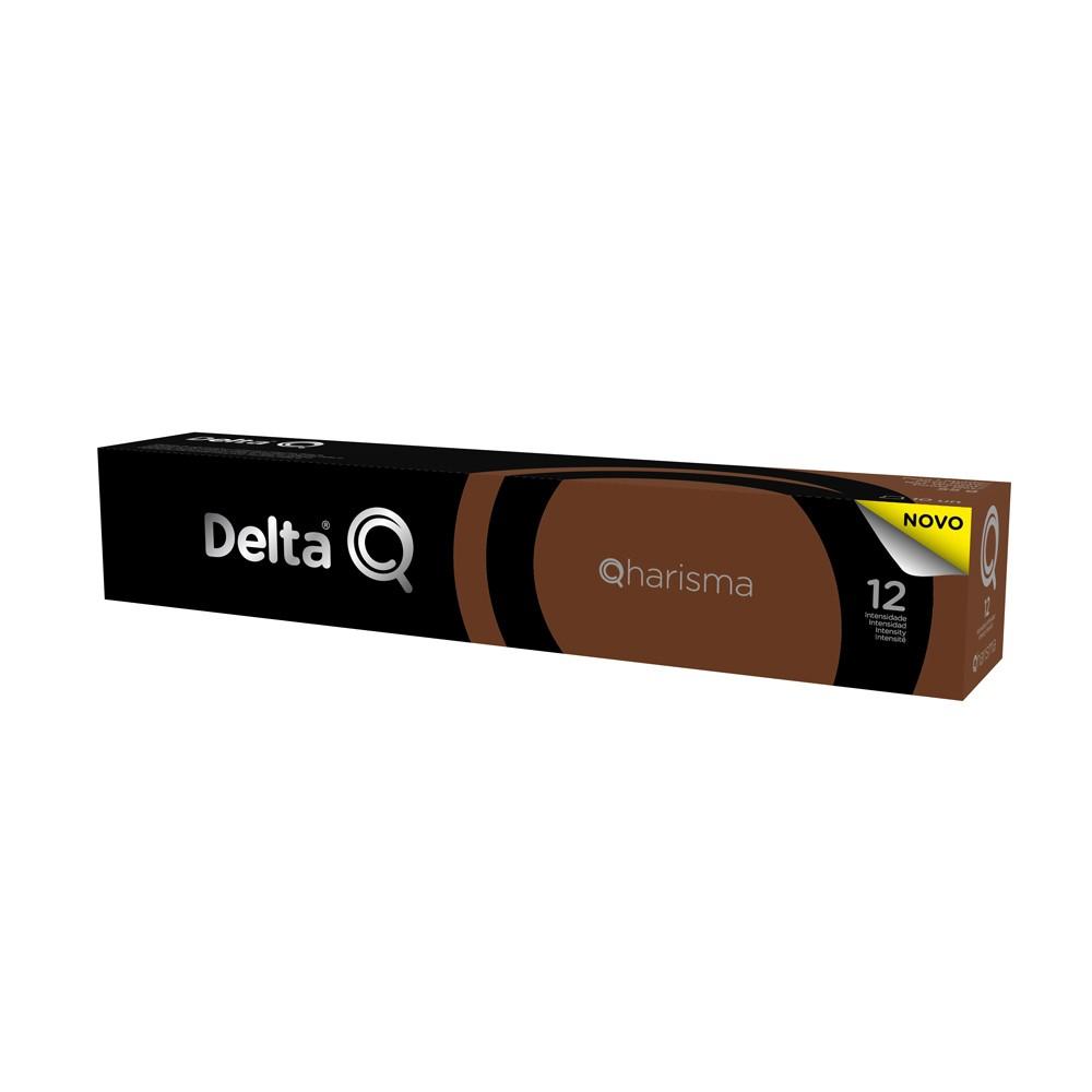 Cápsula de Café Delta Q Qharisma Intensidade 12