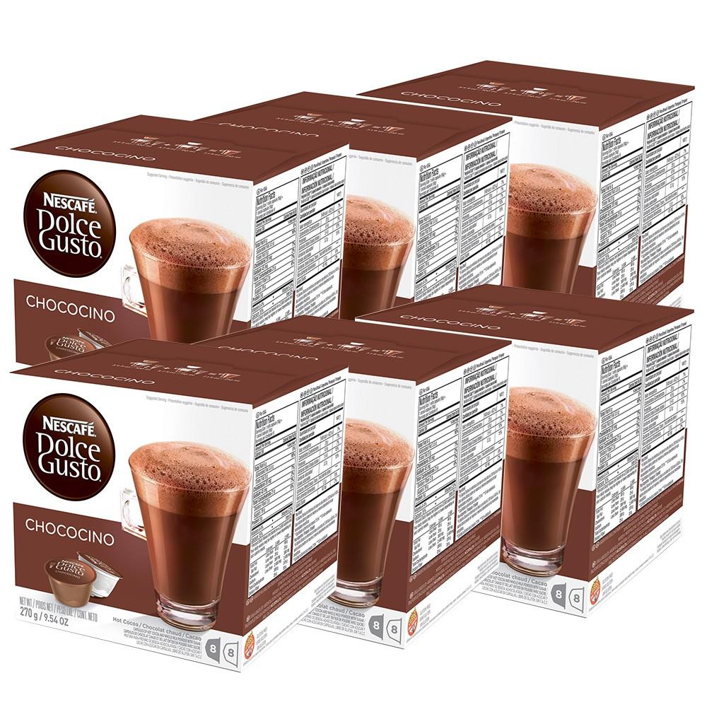 Kit 96 Cápsulas Nescafé Dolce Gusto Chococino - Nestlé