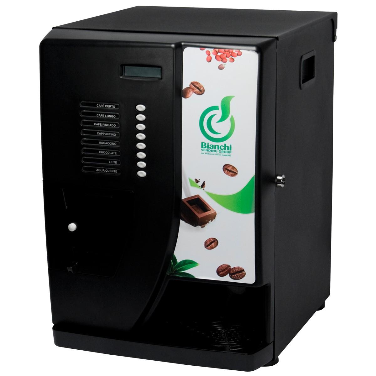 Máquina Vending 5S Café Solúvel Bianchi Preta