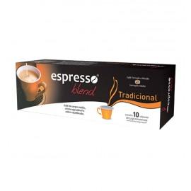 Cápsulas de Café Compatíveis com Nespresso Espresso Blend Tradicional