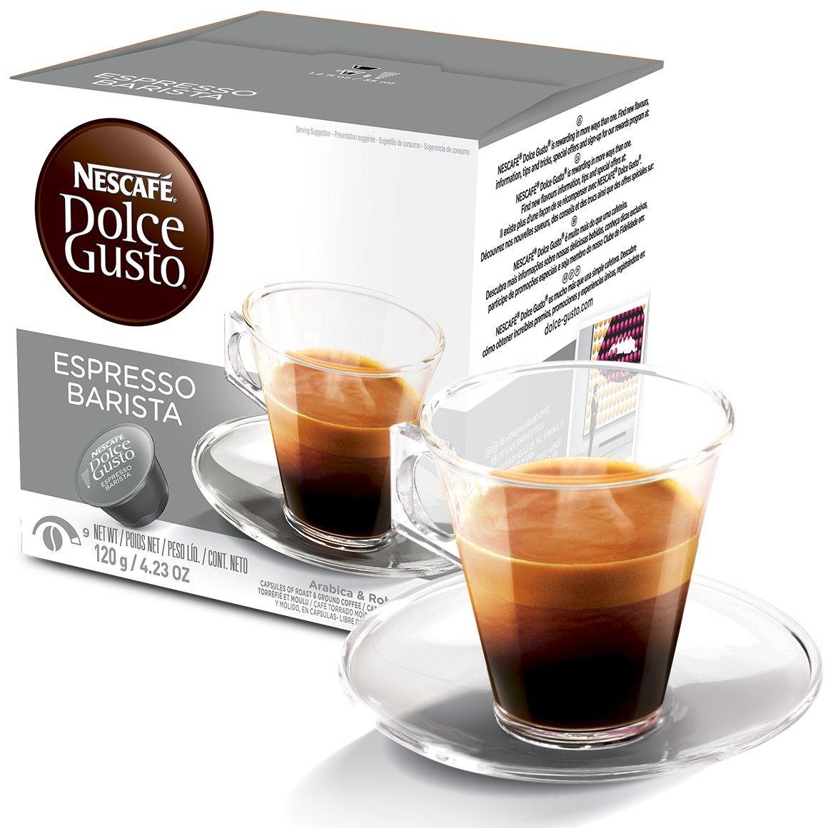Cápsula Nescafé Dolce Gusto Expresso Barista 16 Cápsulas - Nestlé