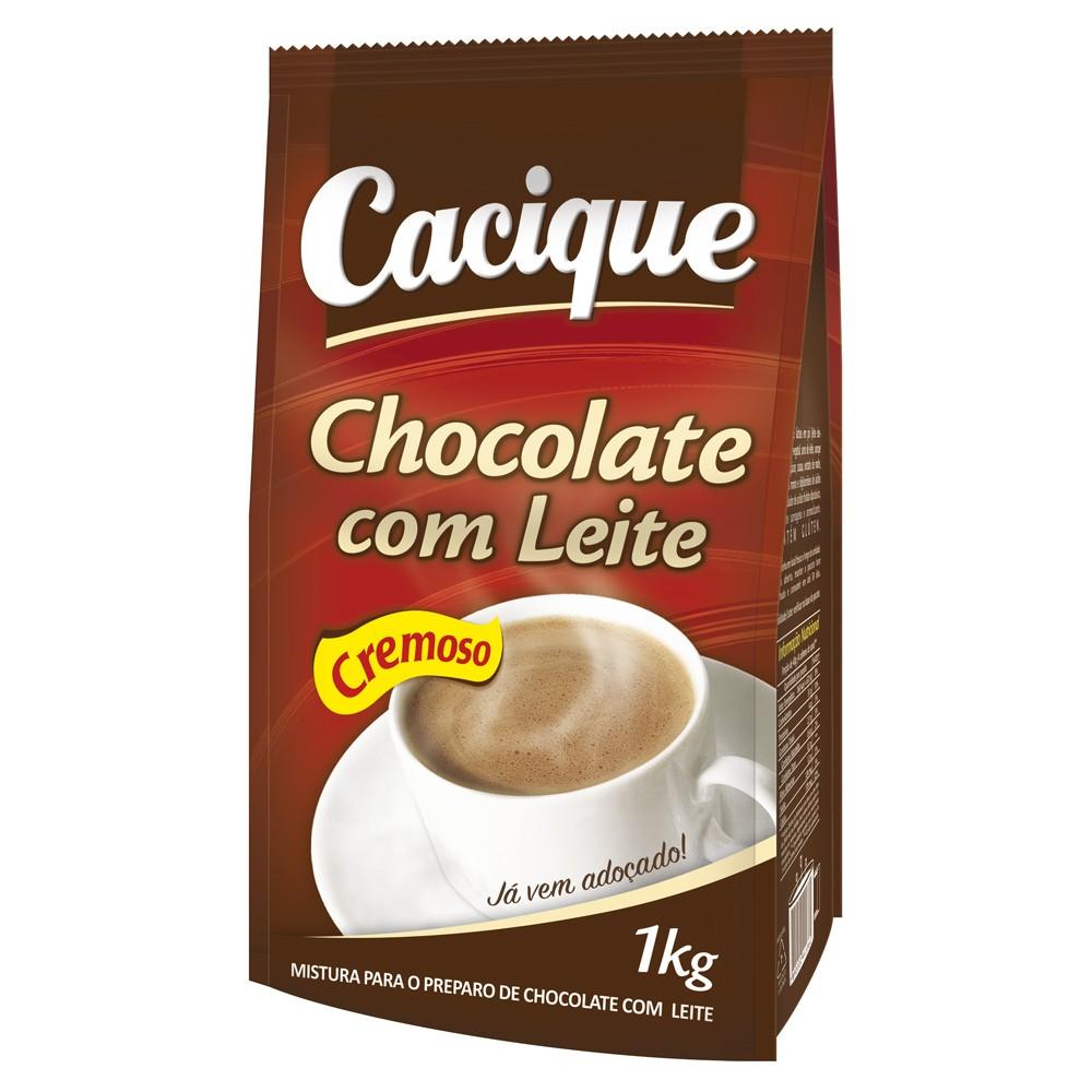 Chocolate com Leite Cacique 1kg