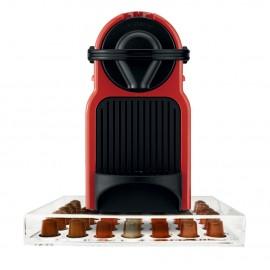 Porta Cápsula Acrílico de Gaveta Nespresso - Compatível com Cápsulas Nespresso® - 35 un.