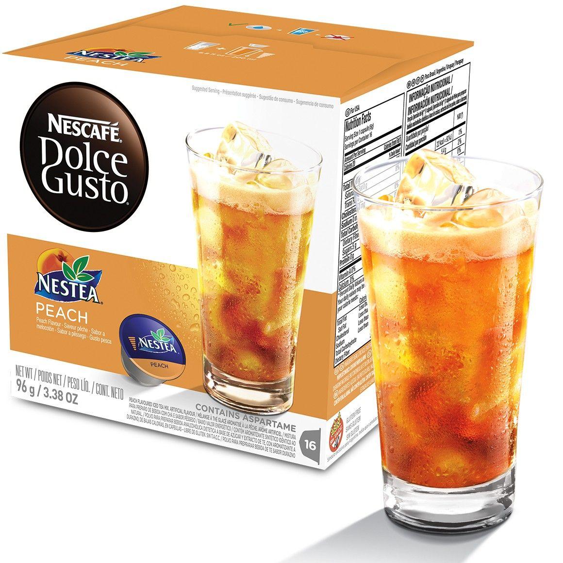 Cápsula Nescafé Dolce Gusto Nestea Pêssego 16 Cápsulas - Nestlé