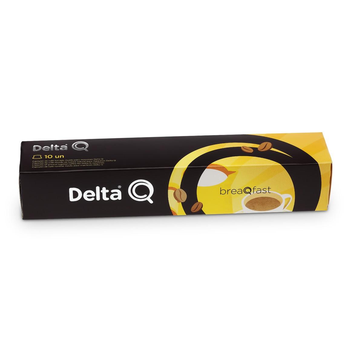 Cápsula de Café Delta Q Breaqfast - 10 Cápsulas